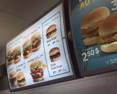 Annonce panneau enseigne usag aw003 restau web for Equipement restaurant usage