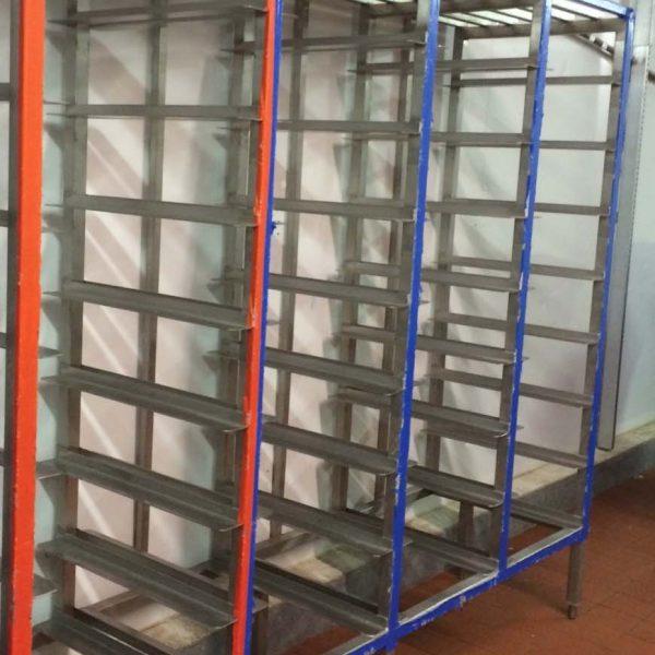 Rack acier inoxydable pour viande usag lob004 for Equipement resto usage